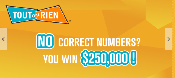 Tout Ou Rien Lottery