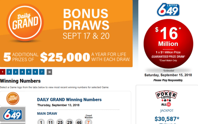 WCLC lotteries
