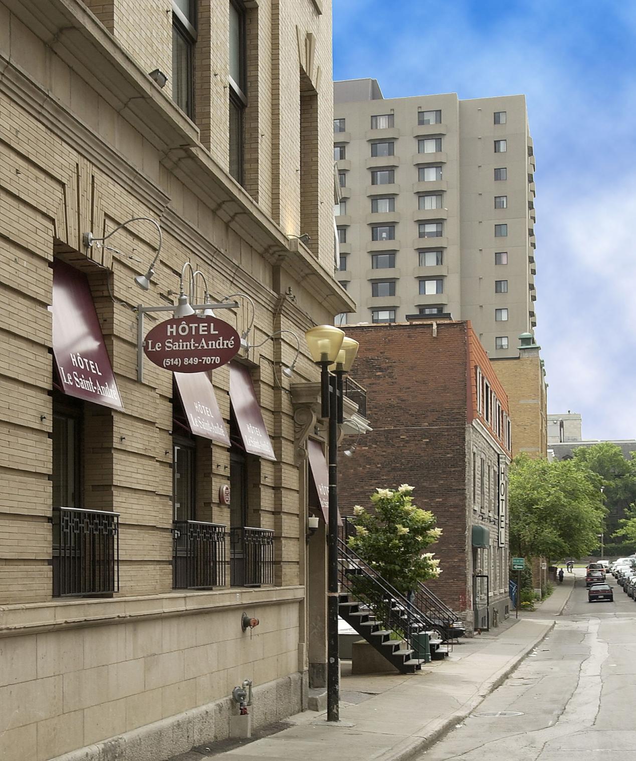 Hotel Le Saint Andre Montreal Canadian Affair