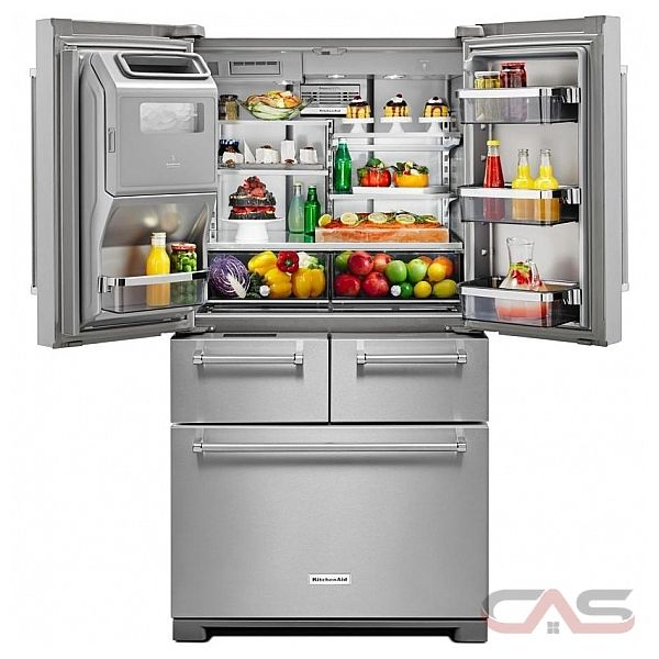 Kitchenaid Krmf706ess French Door Refrigerator Width Thru