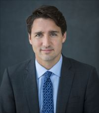 [Photo of Justin Trudeau.]