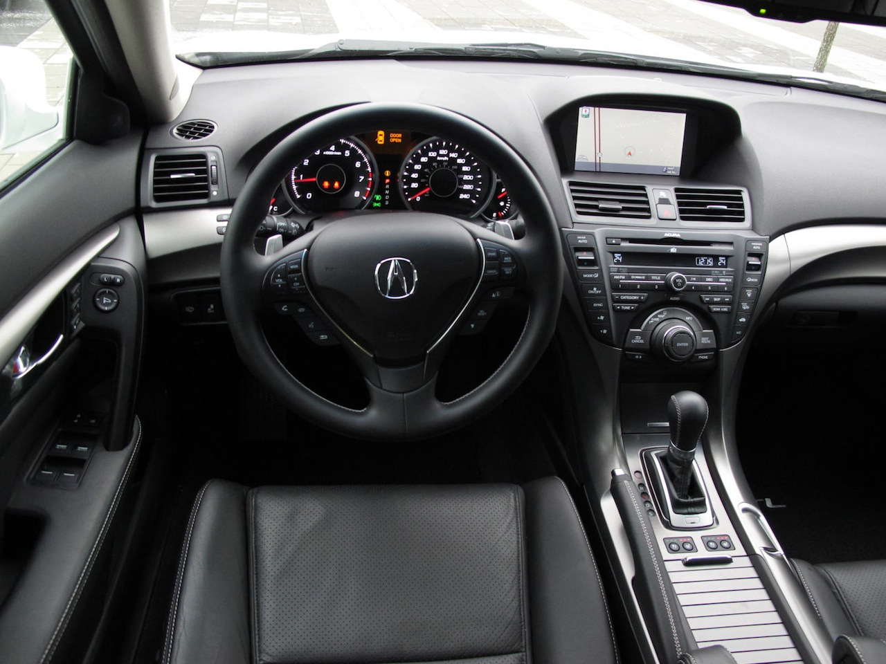 hight resolution of  2012 acura tl sh awd elite white interior
