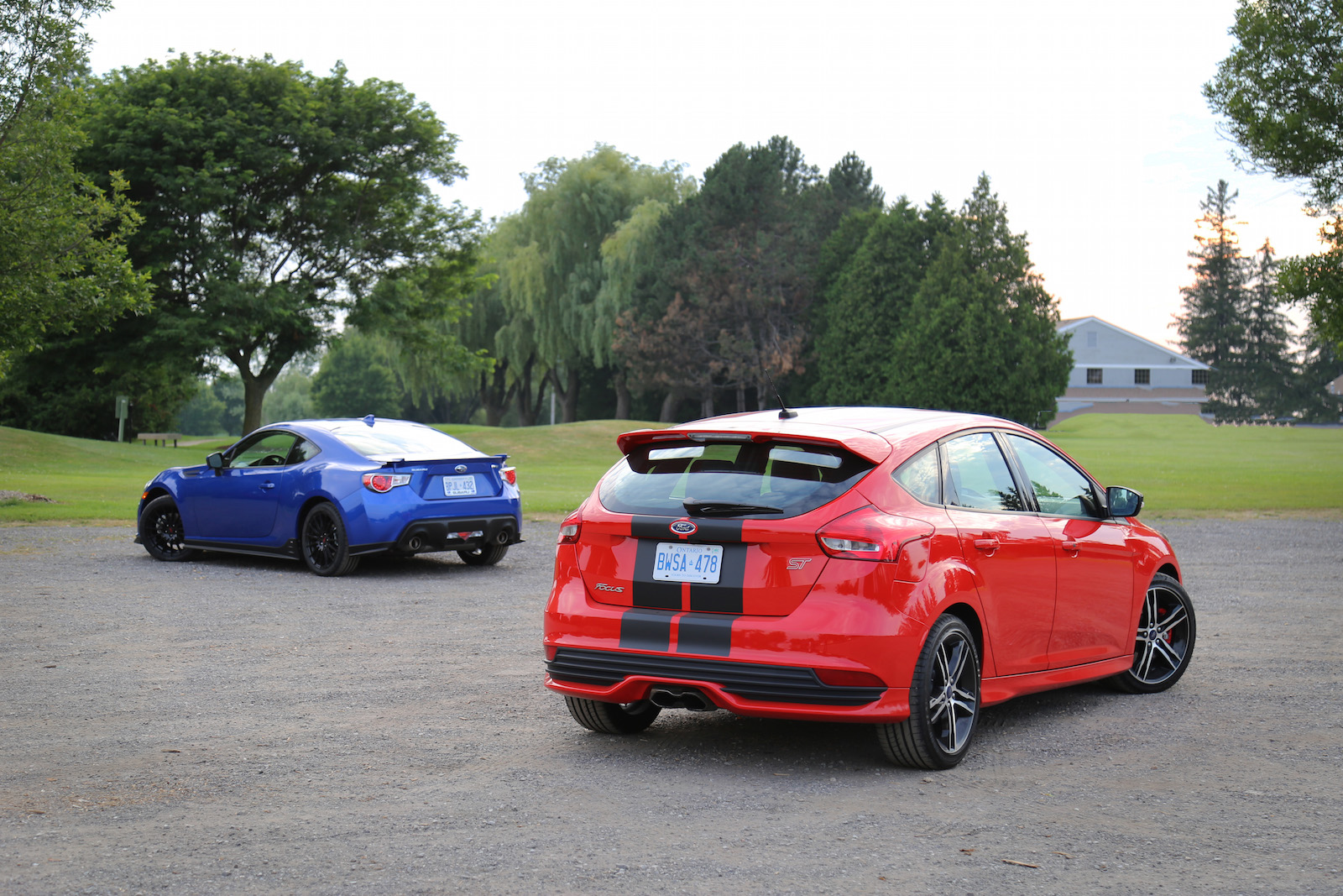hight resolution of  focus st vs brz