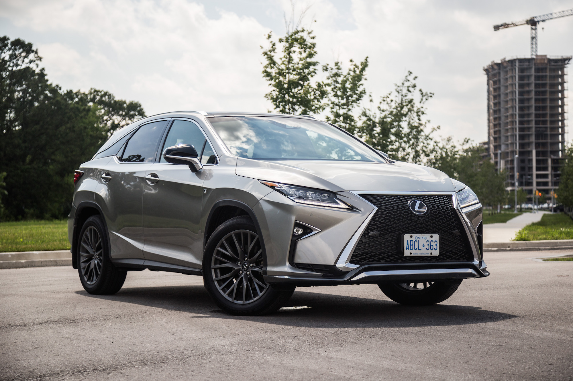Review 2017 Lexus RX 350 F Sport