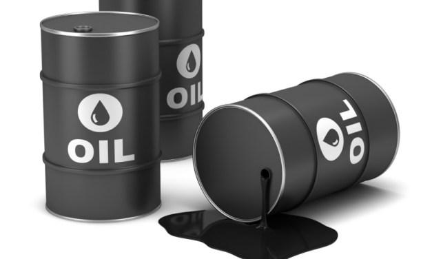 Oil in free fall