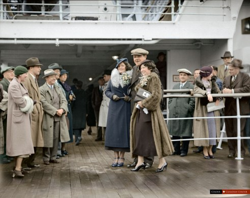 Colourized Photograph