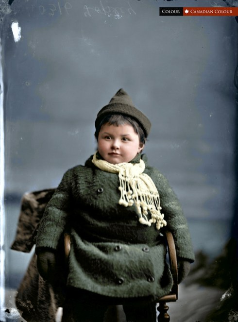 Missie Topley - Colourized Photograph