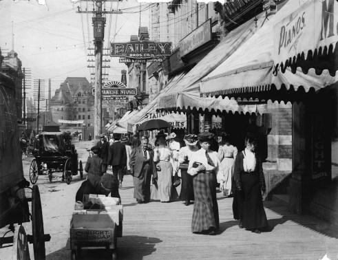 Granville Street - Original Photograph