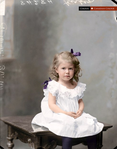 Lydia Kirby - Colourized Photograph