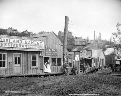 Rossland 1895 - Original Photograph