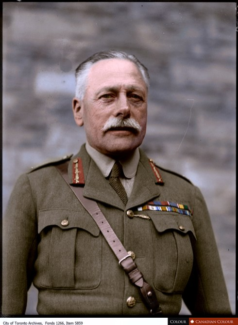 Field Marshal Douglas Haig - Colourized Photograph