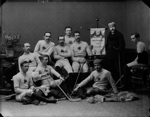 Ottawa Hockey Club 1891 - Original Photograph