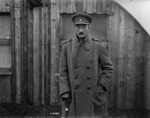 Lt Henry Mareus Strachan VC MC - Original Photograph