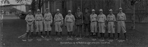 Baseball Team 170th - Original Photo