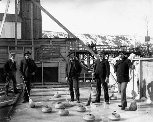 Dawson Curling Club - Original Photograph