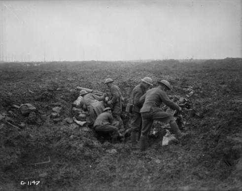 Vimy Machine Gunners