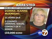 Donna McKnight - Female Sex offender