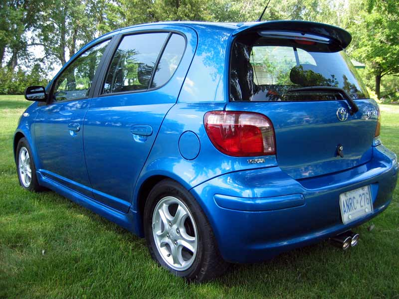 toyota yaris trd exhaust grand new avanza ceper canadiandriver first drive 2004 echo hatchback rs with borla suspension 15 inch alloys