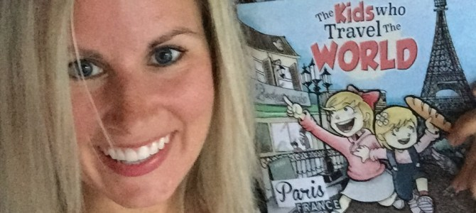 Available on Amazon Today: The Kids Who Travel The World-Paris