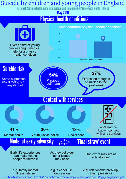 New Youth Suicide Study Reveals Triggers - Infographic 2