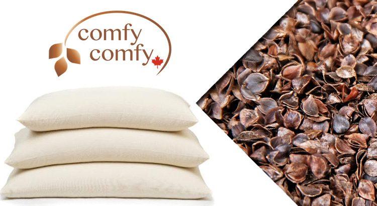 comfysleep buckwheat hull pillow review