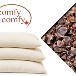 Featured Canadian Product: ComfySleep Buckwheat Hull Pillow Review