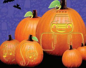 Nickelodeon Free Pumpkin Carving Templates