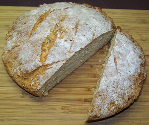 Traditional Irish Canadian Food - Soda Bread Recipe