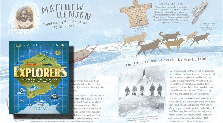 Smithsonian Explorers Book for Kids