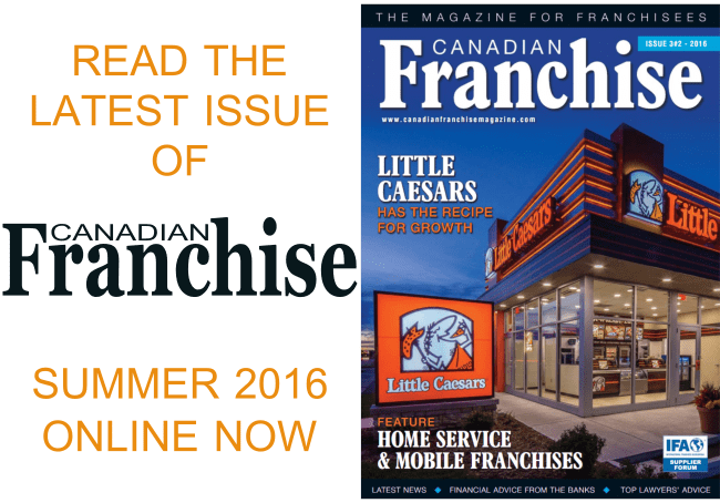Read Latest Issue Canadian Franchise Magazine Online