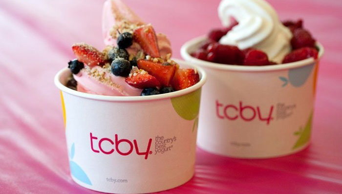 TCBY Frozen Yoghurt