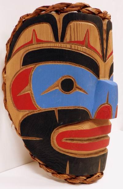 King Of The Sea Kwakiutl Mask Canadian Indian Art Inc