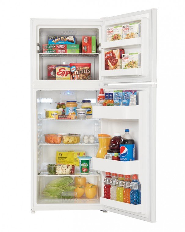 Danby 12 3 Cu Ft Apartment Size Refrigerator White Canadian  Apartment Size Refrigerator Freezer