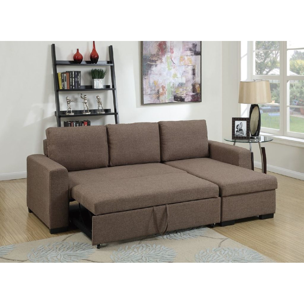 Zara Sectional Sofa, Bed Storage