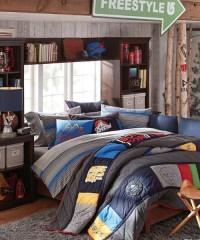 Teen Boy Bedding - Burton Snowboard Bedding
