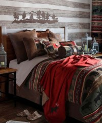 Carstens Wildlife Bedding Collection Rustic Bed Set