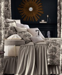 Queen Toile Bedding