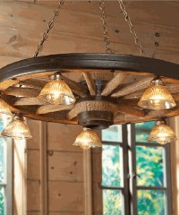 Rustic Chandeliers - Farmhouse, Lodge & Cabin Lighting