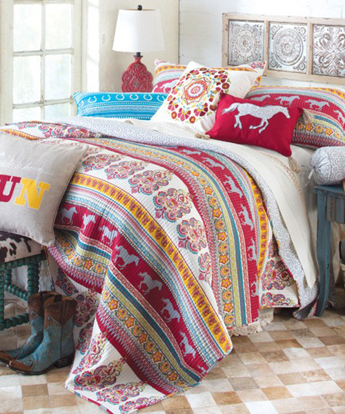 Girls Horse Bedding, Cowgirl & Pony Bedding Sets