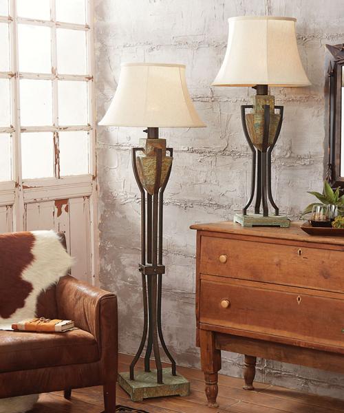 Rustic Table Lamps  Cabin Lighting