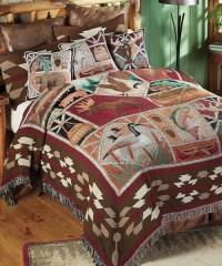 Wildlife Tapestry Bedding | Wildlife Lodge Bedding | Cabin ...