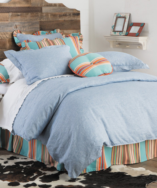 Western Chambray Bedding  Southwest Bedding Comforter