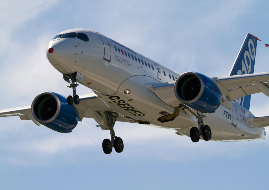 Cseries Testing Enters Final Phase Bombardier To Ramp Up