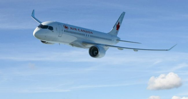 Bombardier Air Canada Finalize Us 3 8b Deal For 45