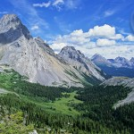 Driving a car from Edmonton is the quickest way to make it to the Canadian Rockies.