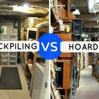 Stockpiling vs Hoarding