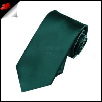 Boys Forest Green Necktie- Canadian Ties