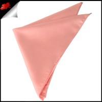 Mens Coral Salmon Handkerchief- Canadian Ties