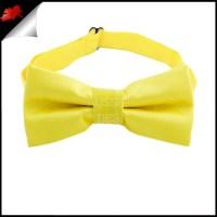 Daffodil Yellow Boys Bow Tie- Canadian Ties