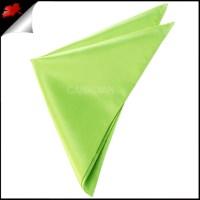 Mens Lime Green Pocket Square Handkerchief- Canadian Ties